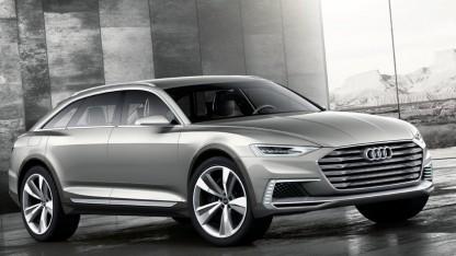 Konzeptfahrzeug Audi Prologue Allroad