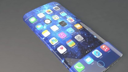 So könnte eine Kombination aus iPhone und Samsung S6 Edge aussehen - doch Apple plant anderes
