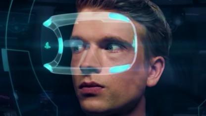 Project Morpheus in einem Trailer von Rigs
