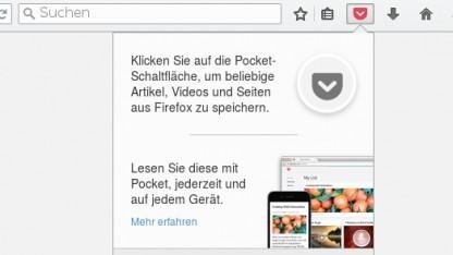Der Pocket-Einbau in den Firefox-Browser ist umstritten.