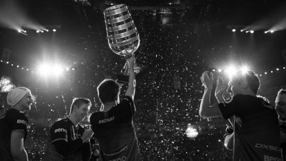 Fnatic gewinnt den CS-Go-Pokal bei der ESL One 2015 in Köln.