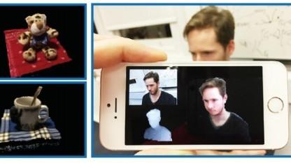 Mit Mobilefusion soll das Smartphone zum 3D-Scanner werden.