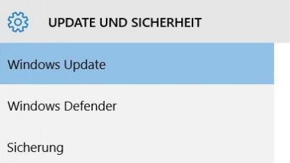 Das Windows Update erlaubt unter Umständen eine Verzögerung von bis zu einem Jahr mit einer Pro-Lizenz.