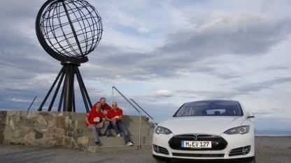 Electrified World Record Tour 2015 am Nordkap