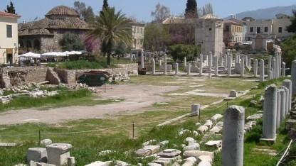Eine antike Agora: Der gleichnamige Marktplatz im Tor-Netzwerk schließt vorübergehend wegen Sicherheitsbedenken.