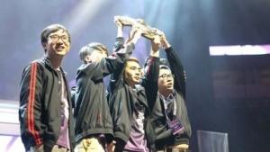Team Newbee, die Gewinner von The International 2014