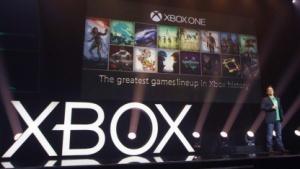 Pressekonferenz Microsoft auf der Gamescom 2015