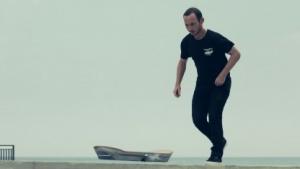 Hoverboard: beim Aufsteigen unsanft auf dem Hintern gelandet