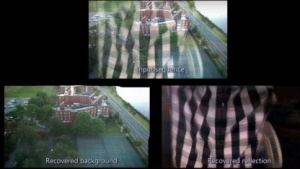 Obstruction-Free Photography: Vorder- und Hintergrund getrennt betrachten