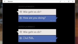 Der Übersetzer von Microsoft