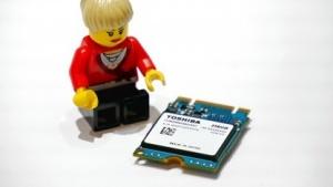 Toshibas BG1-SSD mit NVMe im M.2-2230-Formfaktor