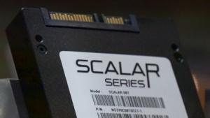 Der Prototyp einer Scalar-SSD von Novachips weist eine Kapazität von 16 TByte auf