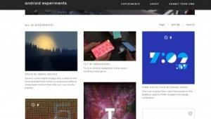 Googles neue Entwickler-Plattform Android Experiments