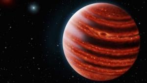 Junger Gasplanet (Symbolbild): junger Planet oder uralter Stern?