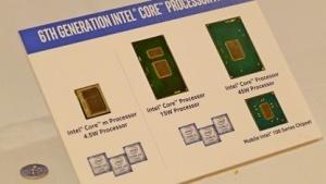 Drei Skylake-Chips für Detachables, Ultrabooks und mobile Workstations