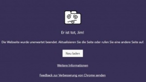 Absturz der 64-Bit-Version von Chrome