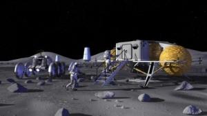 Konzept für eine Mondbasis: Relaisstation auf dem Weg zum Mars