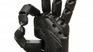 Handprothese von Open Bionics: Teile in 40 Stunden aufgebaut