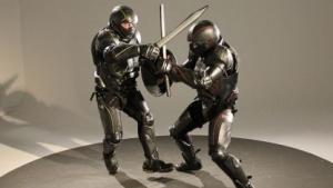 Schwertkampf mit Lorica: Computer errechnet Schaden.