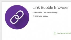 Link Bubble Browser für Android ist jetzt kostenlos.
