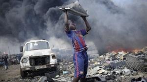 Das Recycling von Elektronik ist oft mit Kinderarbeit und fragwürdigen Bedingungen verbunden (Bild: Kai Löffelbein), Recycling