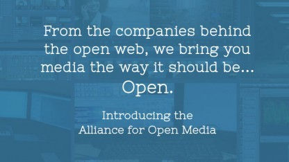 Die großen Webunternehmen wollen eine freien Videocodec erstellen.