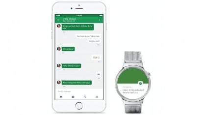 Android-Wear-App für iOS unterstützt Apples Healthkit nicht.