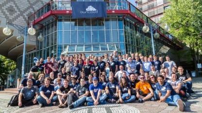 Die Teilnehmer der diesjährigen Owncloud Contributor Conference