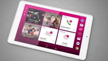Das 8-Zoll-Tablet Puls läuft mit Android 5.0.
