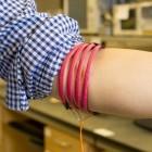 Magnetfeld: Die Smartwatch sendet Daten durch den Körper