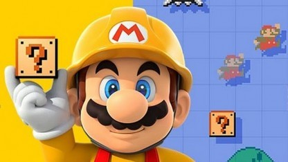 Artwork von Super Mario Maker