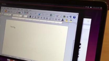 Libreoffice als X11-Anwendung unter Mir in Unity8