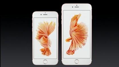 iOS 9 ist auf den neuen iPhones bereits vorinstalliert.