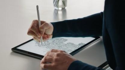 Das iPad Pro wird in den Gehäusefarben Gold, Silber und Space-Grau angeboten.