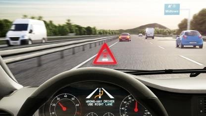 Warn-App: in zehn Sekunden über Falschfahrer informiert