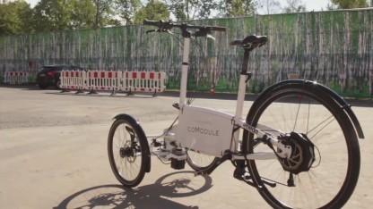"""Autonomes Fahrrad von Comodule: """"Bauen wir doch einen Prototyp""""."""