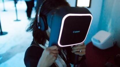 Canons VR-Viewer mit 5K-Display