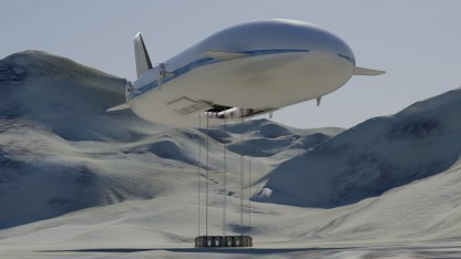 Transportluftschiff Aeroscraft ML866: wie ein fliegendes U-Boot