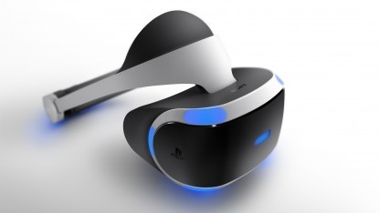 Prototyp des Playstation VR