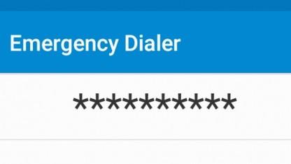 Über die Notruffunktion können aktuelle Android-Smartphones angegriffen werden.