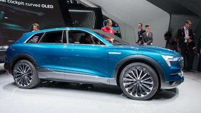 Audi E-Tron Quattro Concept: nachhaltige Lösung, um die Reichweite zu erhöhen