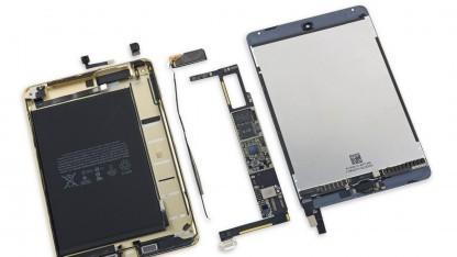 Das iPad Mini 4 in seinen Einzelteilen