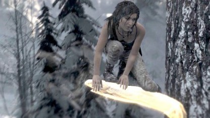 Lara Croft in Rise of the Tomb Raider