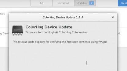 Mit Gnome Software 3.18 kann die Firmware von Geräten aktualisiert werden.