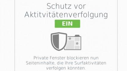 Der private Modus der aktuellen Firefox Beta 42 schützt Nutzer vor ungewolltem Tracking.