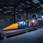 Rekordauto: Bloodhound SSC soll 1.600 km/h am Boden schaffen