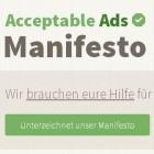 Adblock Plus: Gremium soll über unaufdringliche Werbung entscheiden