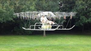 Multicopter The Swarm: zuerst unbemannt getestet
