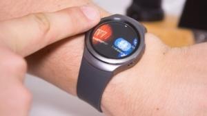 Die Gear S2 gehört zu den aktuellen Samsung-Smartwatches.