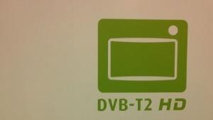 DVB-T2-Logo auf der Ifa 2015